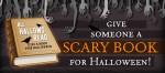 Celebrate Halloween with a scary book. Visit their website: http://www.allhallowsread.com/