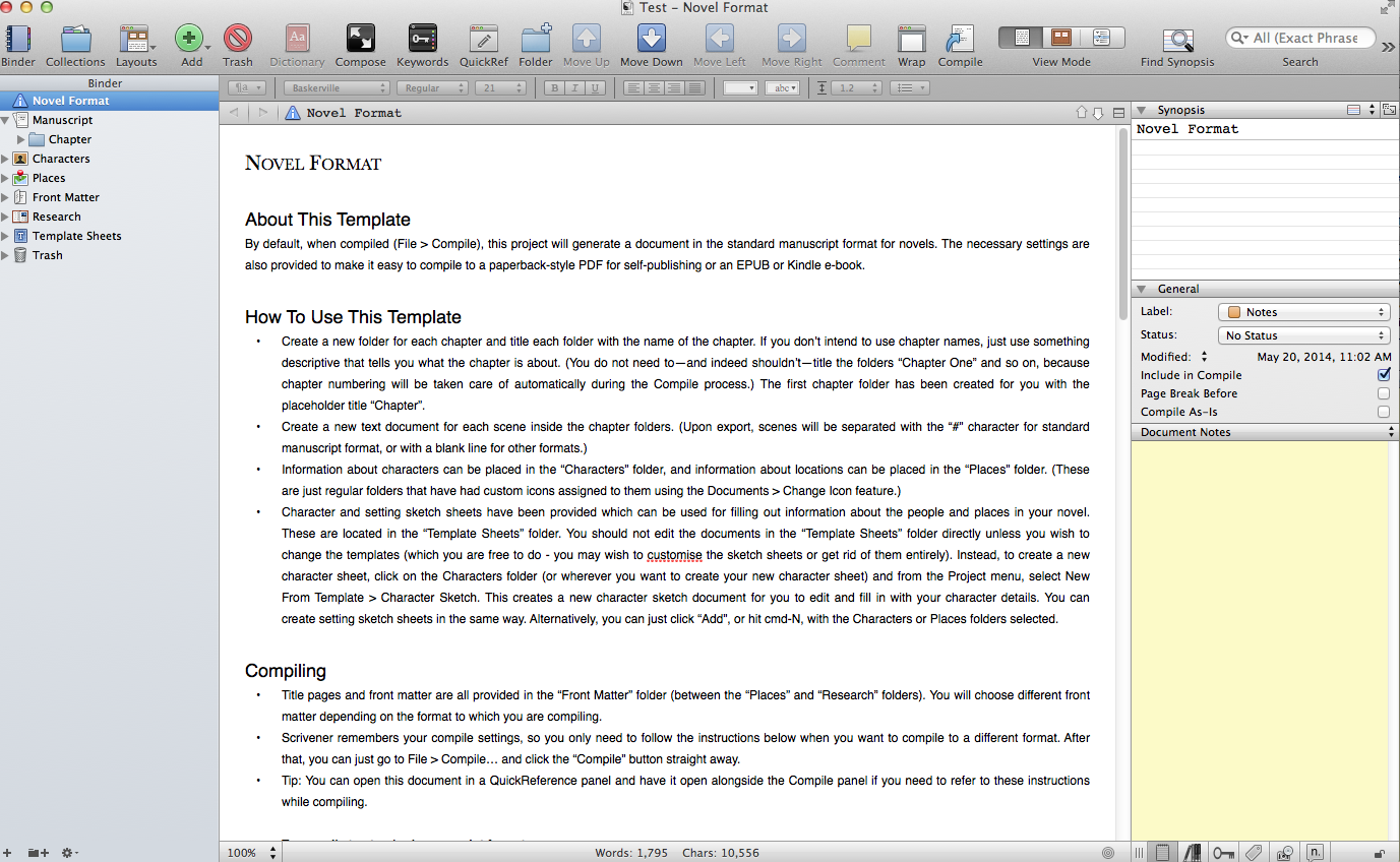 scrivener writing software Writing long works like novels and dissertations can be a chaotic process scrivener—a popular writing software—can help authors research, write, edit, and publish long documents.