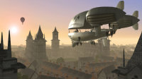 Do you love airships? Steampunk? Short film you can watch in a couple minutes? Here are three good ones. This airship is by  James Margerum, visit his site here: http://www.deviantart.com/art/Airship-27864519