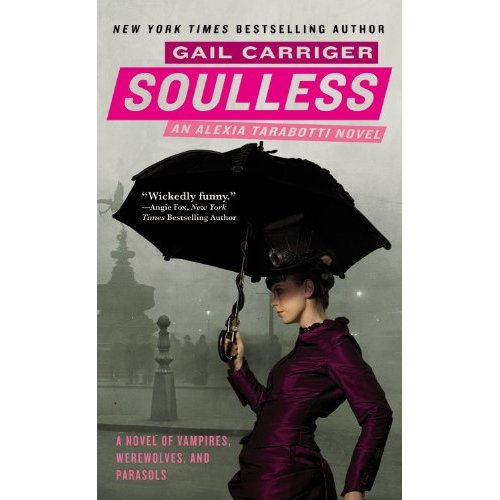 """Book Review of Gail Carriger's """"Soulless"""""""