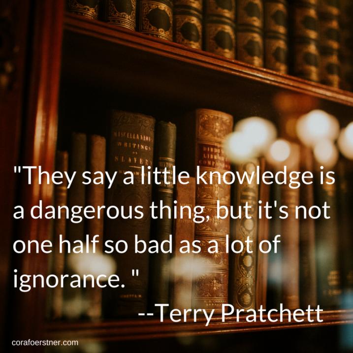 Pratchetts Quotation Echoes His Writings Cora Foerstner
