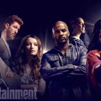 image of American Gods cast from Entertainment Weekly
